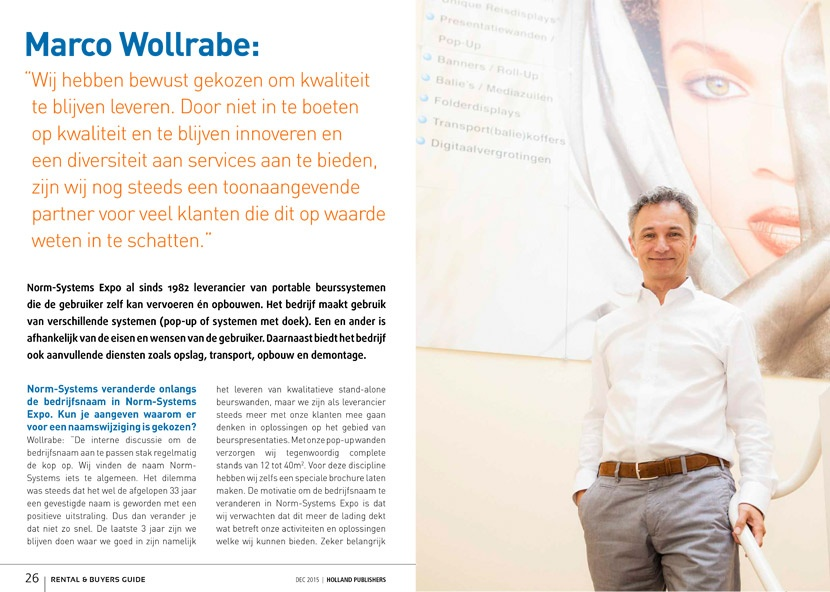 Interview Marco Wollrabe